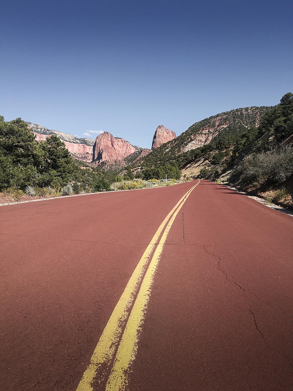 Kolob canyon road Zion