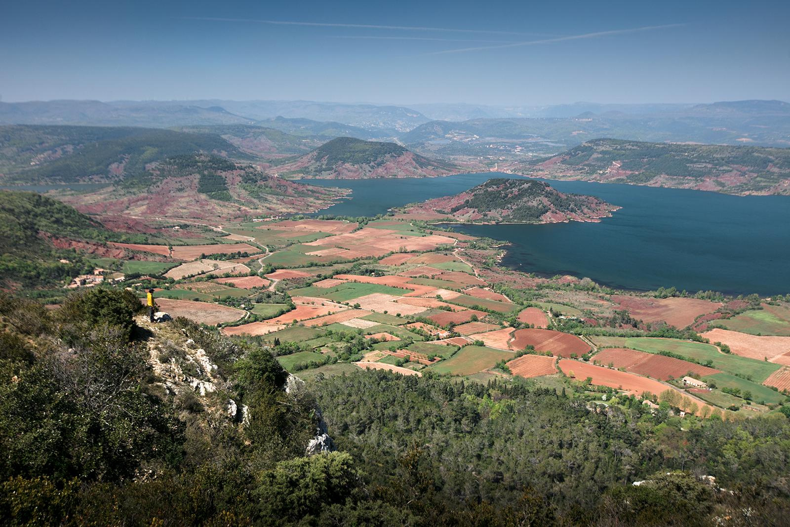 Point de vue Salagou Mont Liausson