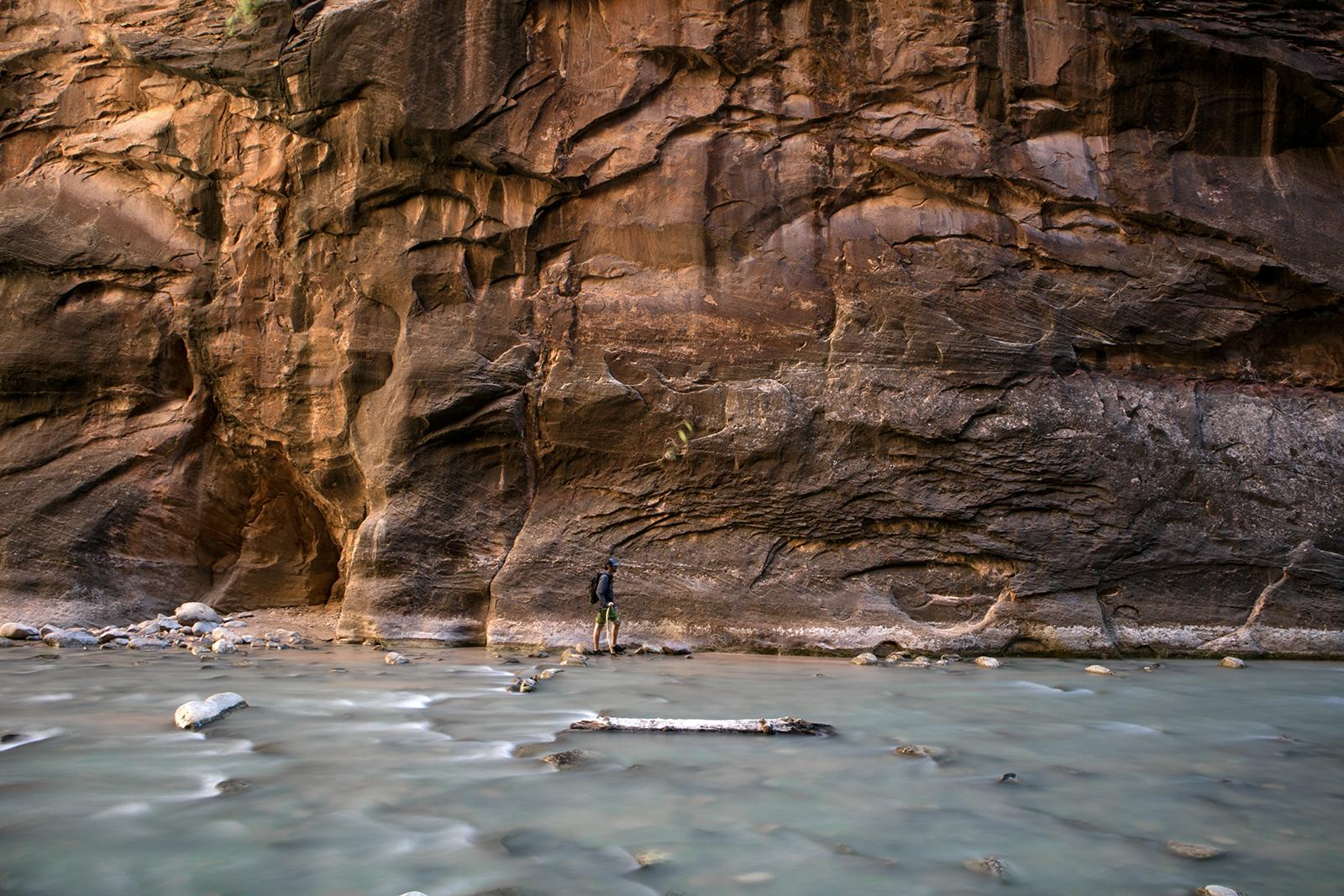 Visiter Zion : la randonnée aquatique The Narrows