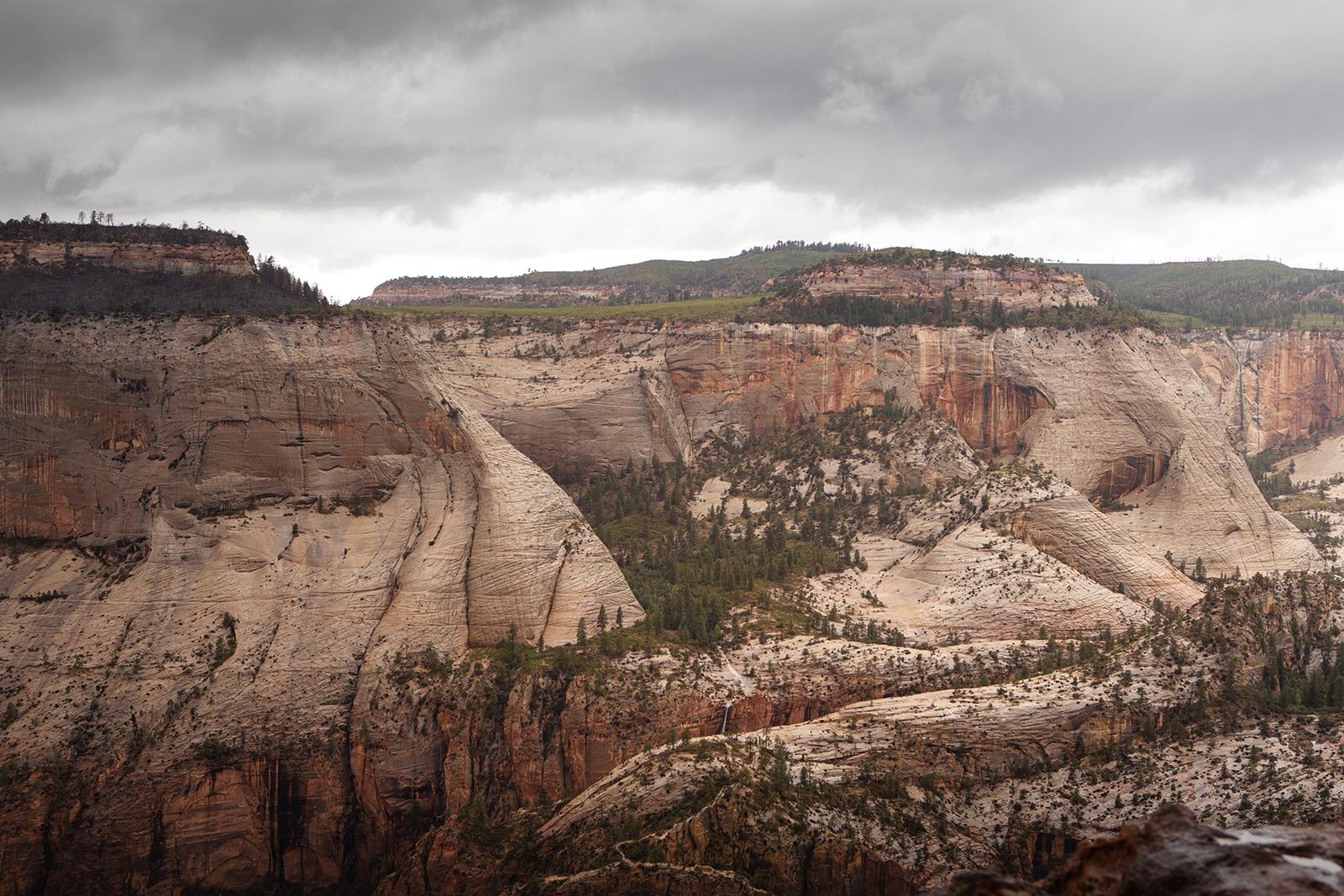 Parc national de Zion dans l'Utah