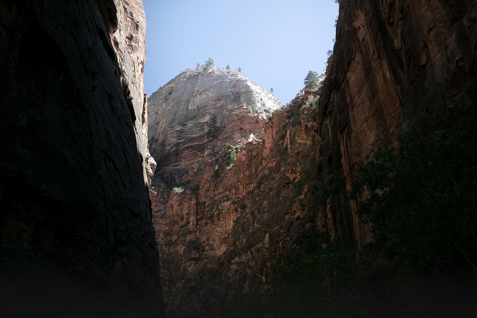 Canyon Kanarra creek
