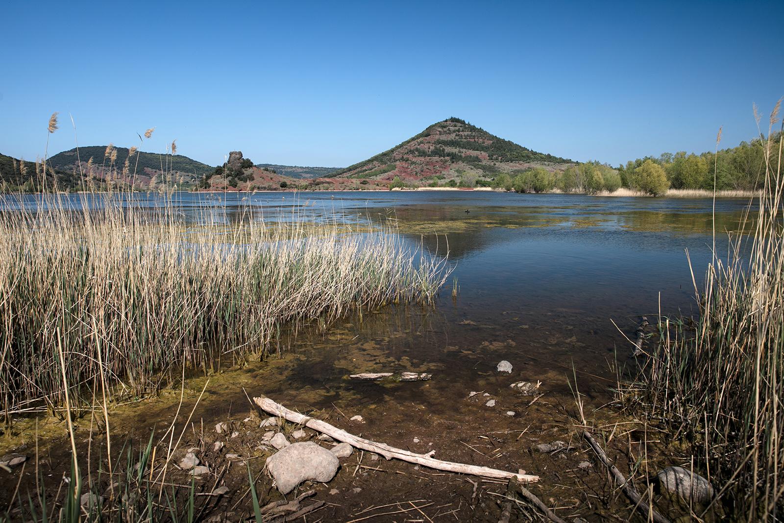 Paysage autour du lac du Salagou