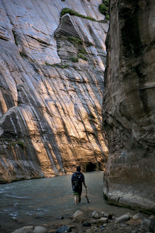 Randonner dans le parc national de Zion en Utah