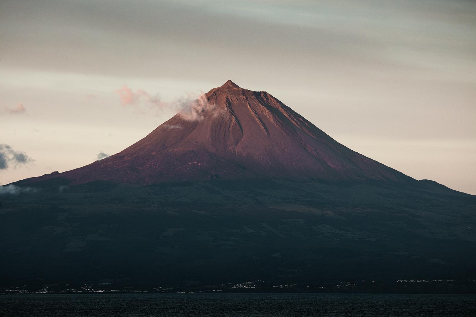 Volcan Pico Açores