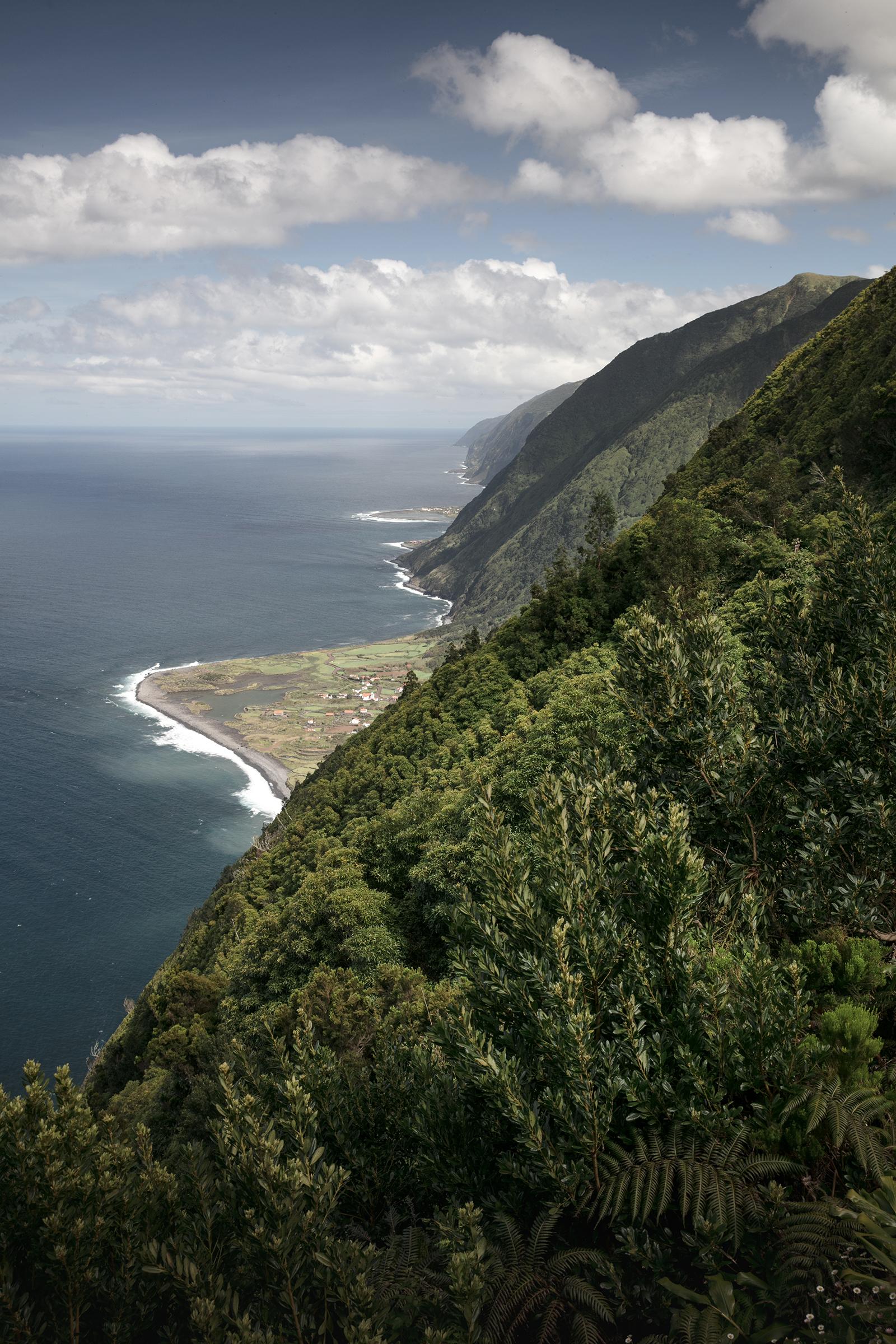 Falaises à sao Jorge Açores