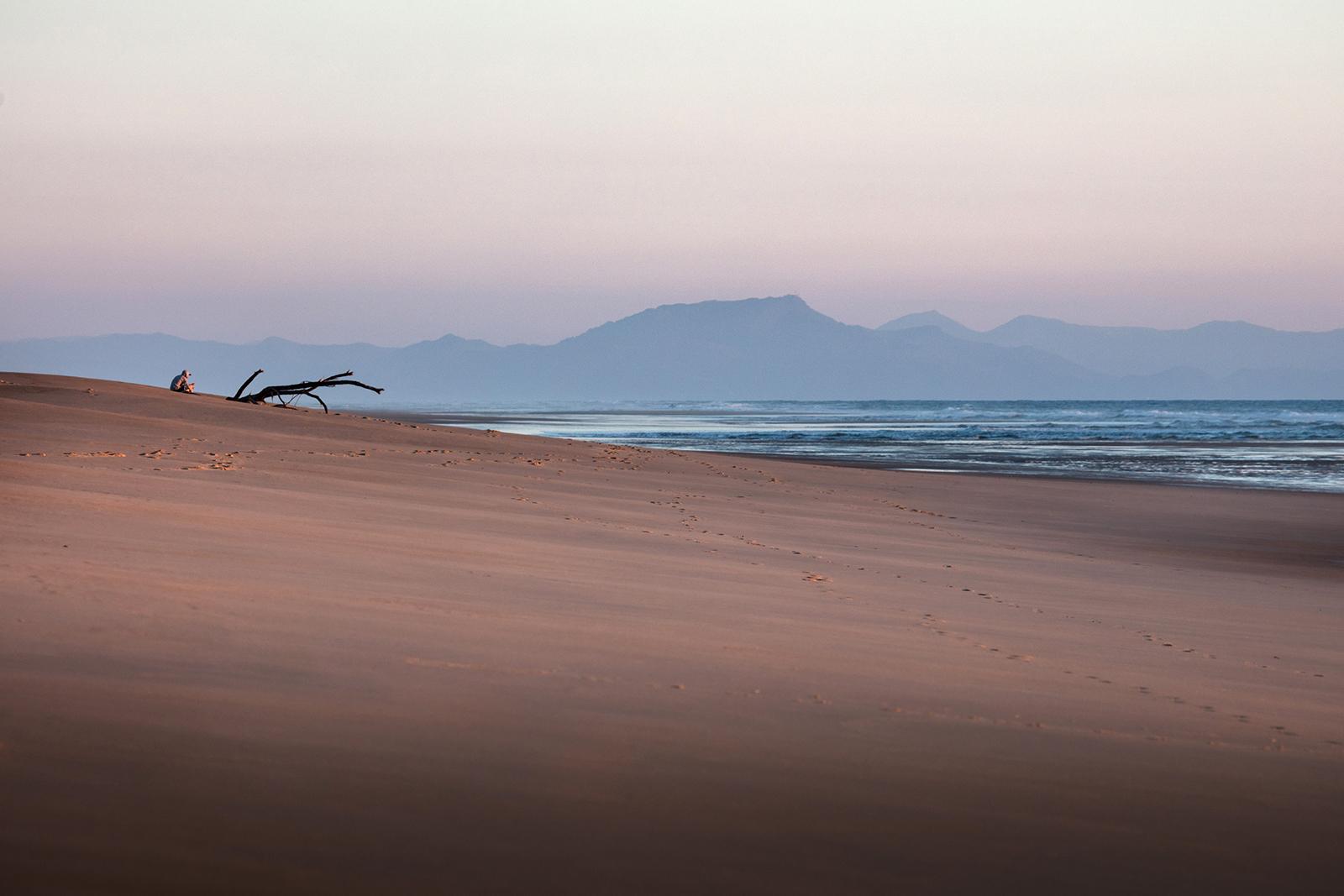 paysage plage côte landaise