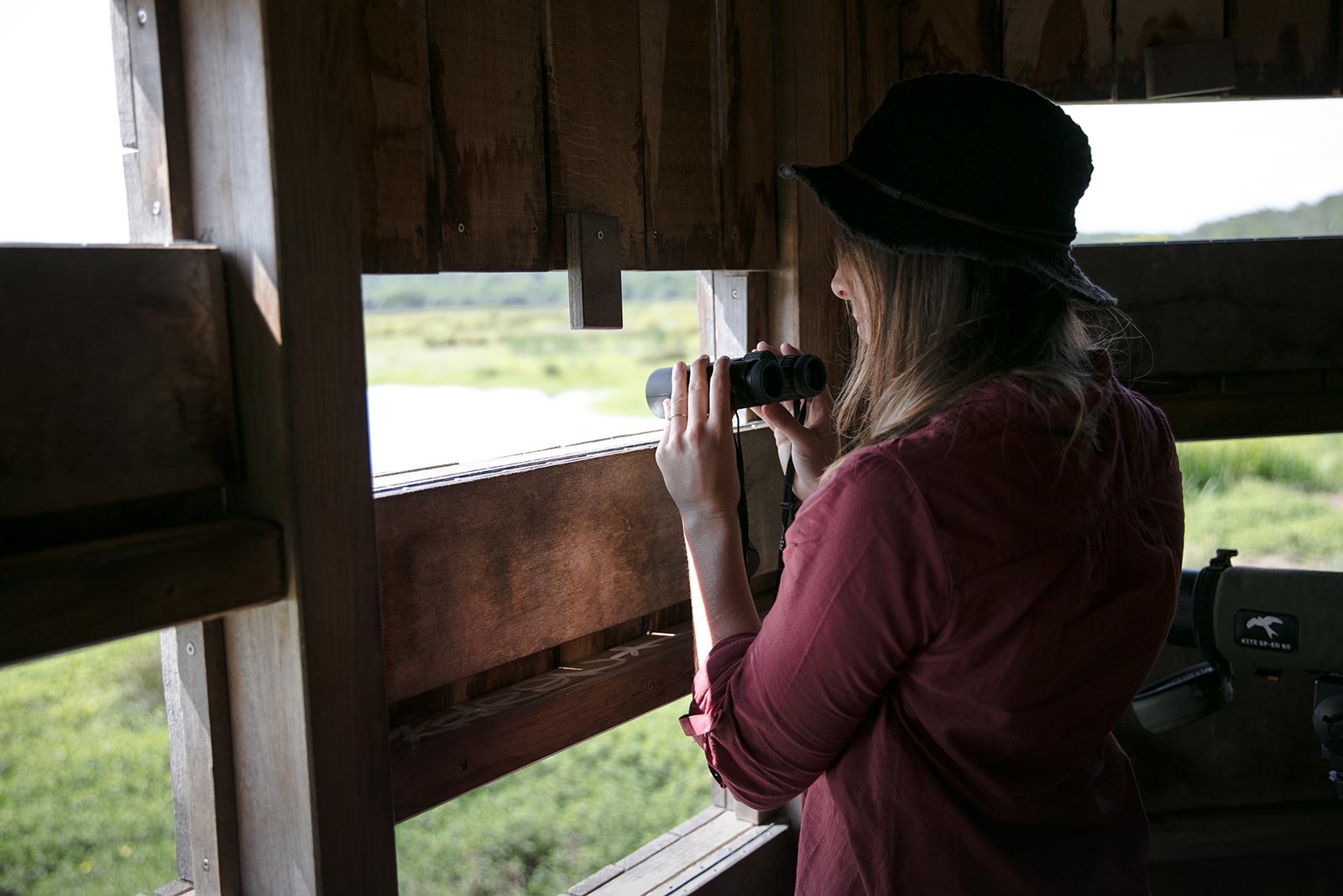 Visiter la réserve naturelle du Marais d'Orx