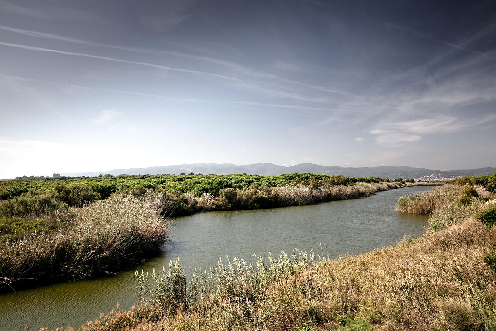 Paysage nature en Catalogne proche de Barcelone