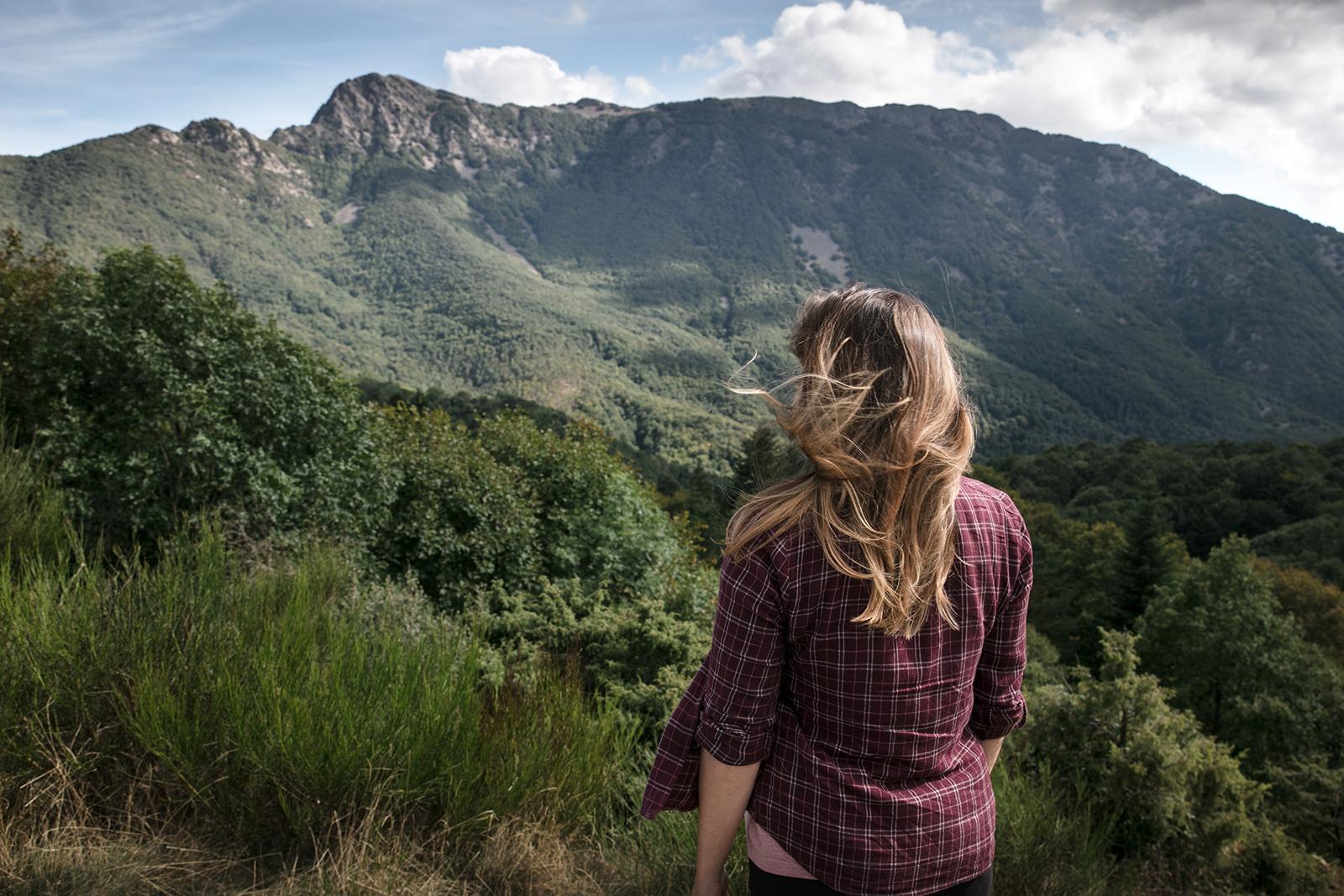 Point de vue Montagnes de Montseny