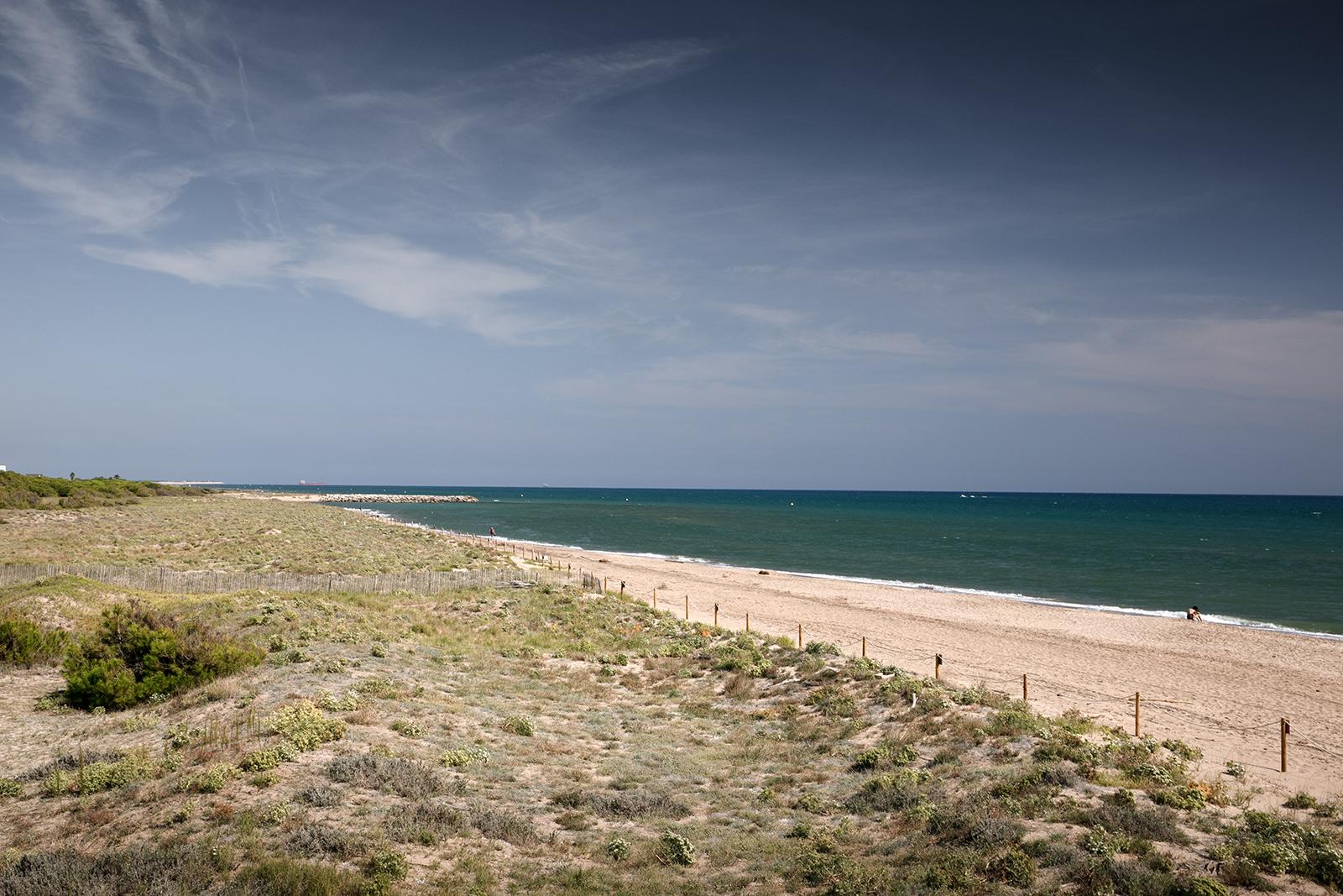 Belle plage proche de Barcelone