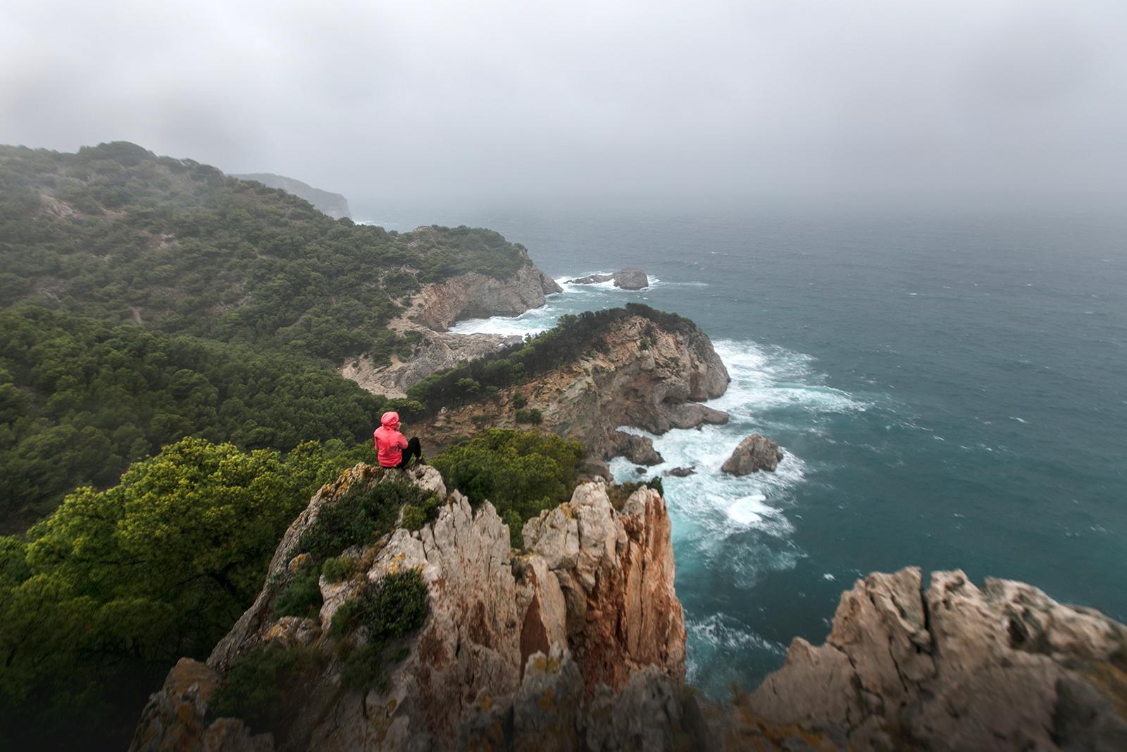 Beau paysage de la costa brava en Espagne