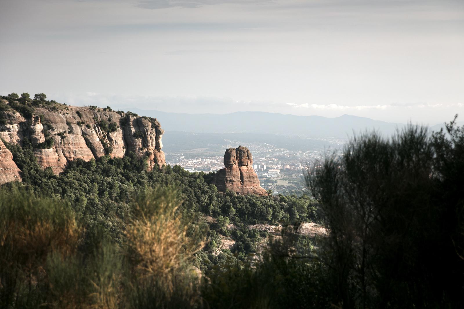 Beau paysage de catalogne Espagne