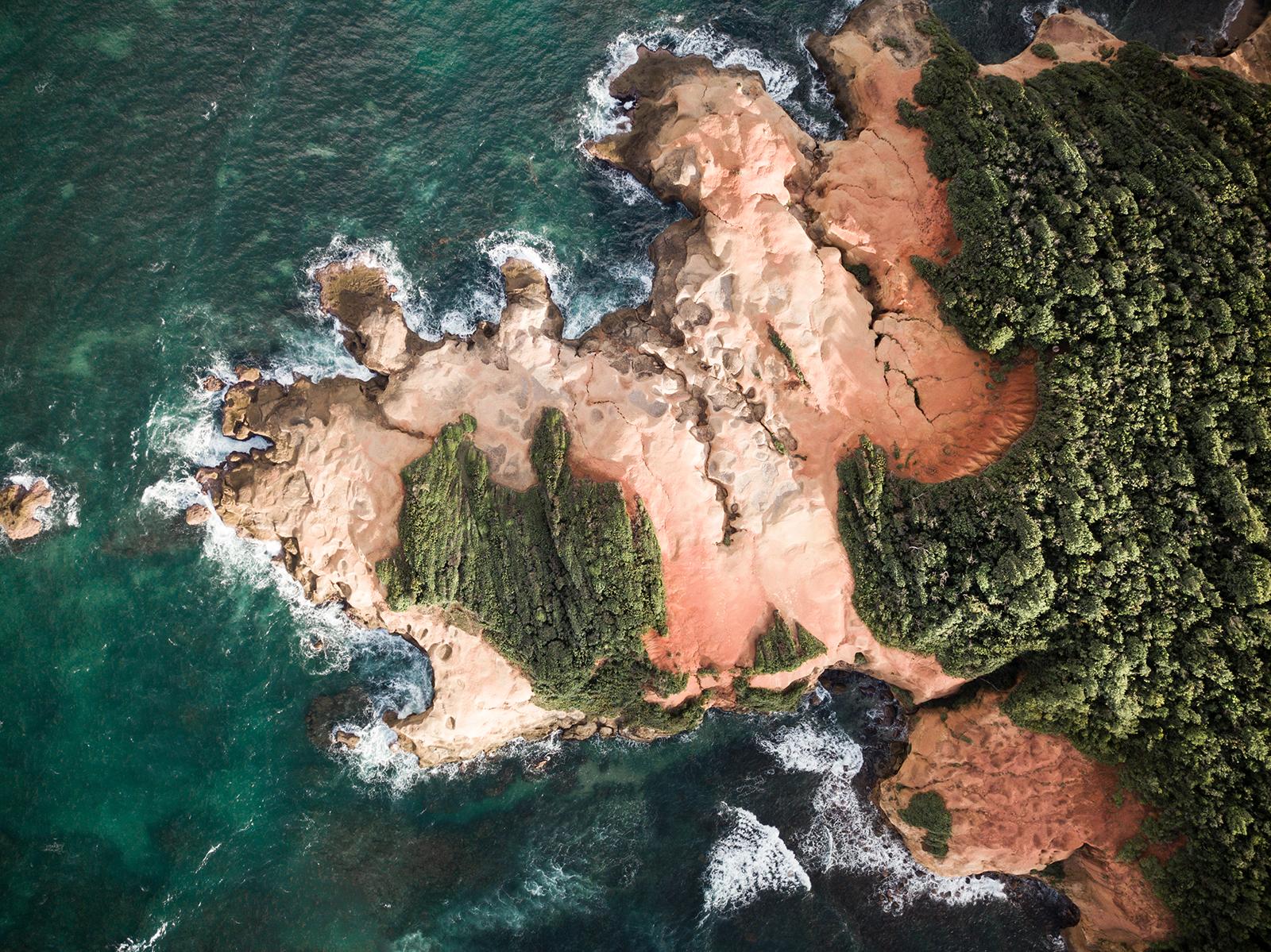 Red Rocks île de la Dominique