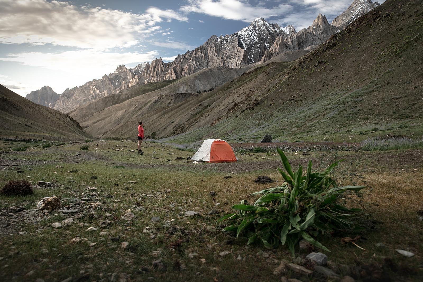Bivouac autorisé au Ladakh