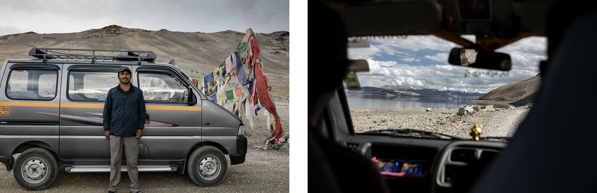 reserver un taxi au ladakh à leh