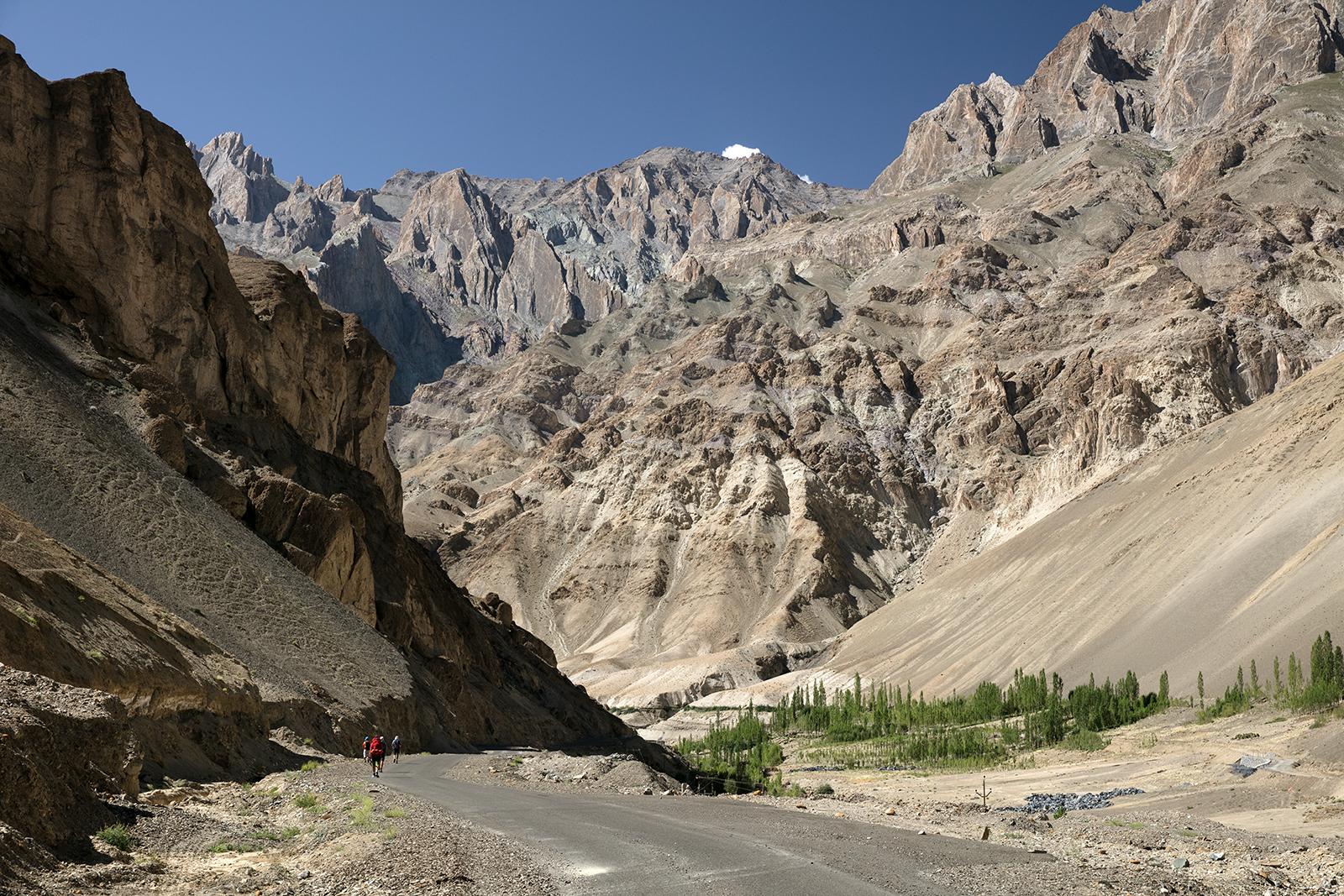 Etape trek Lamayuru Ladakh