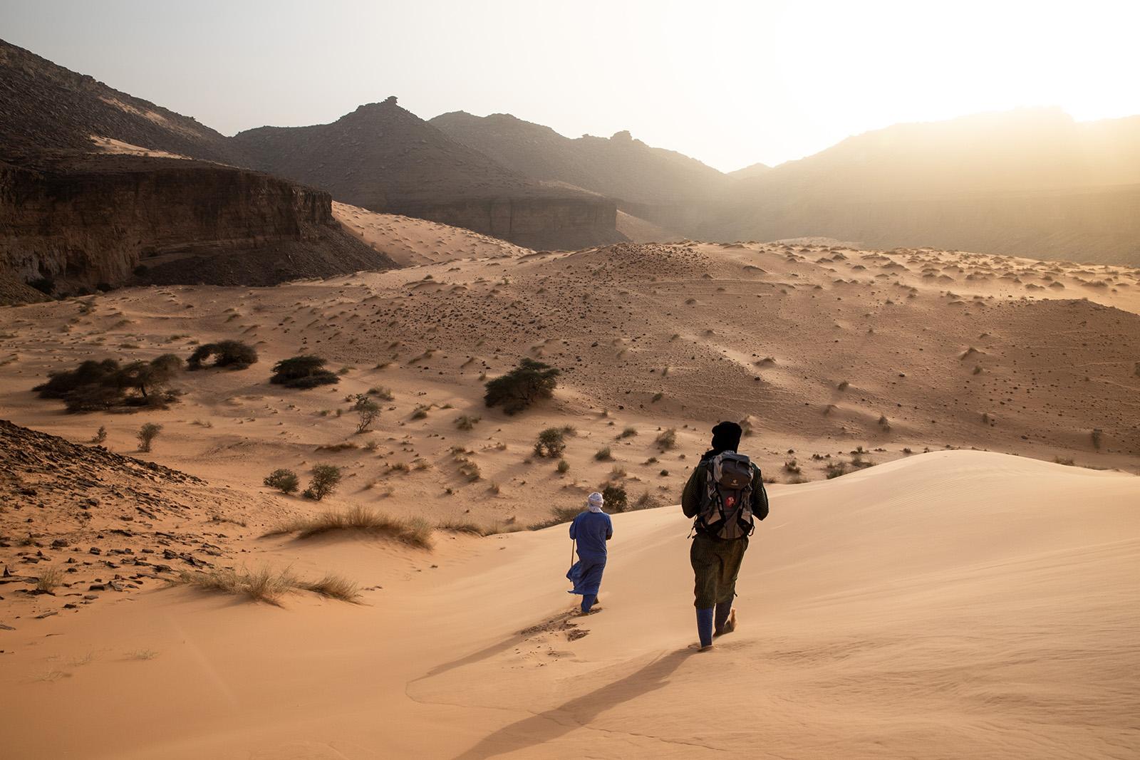 Randonnée dans l'Adrar