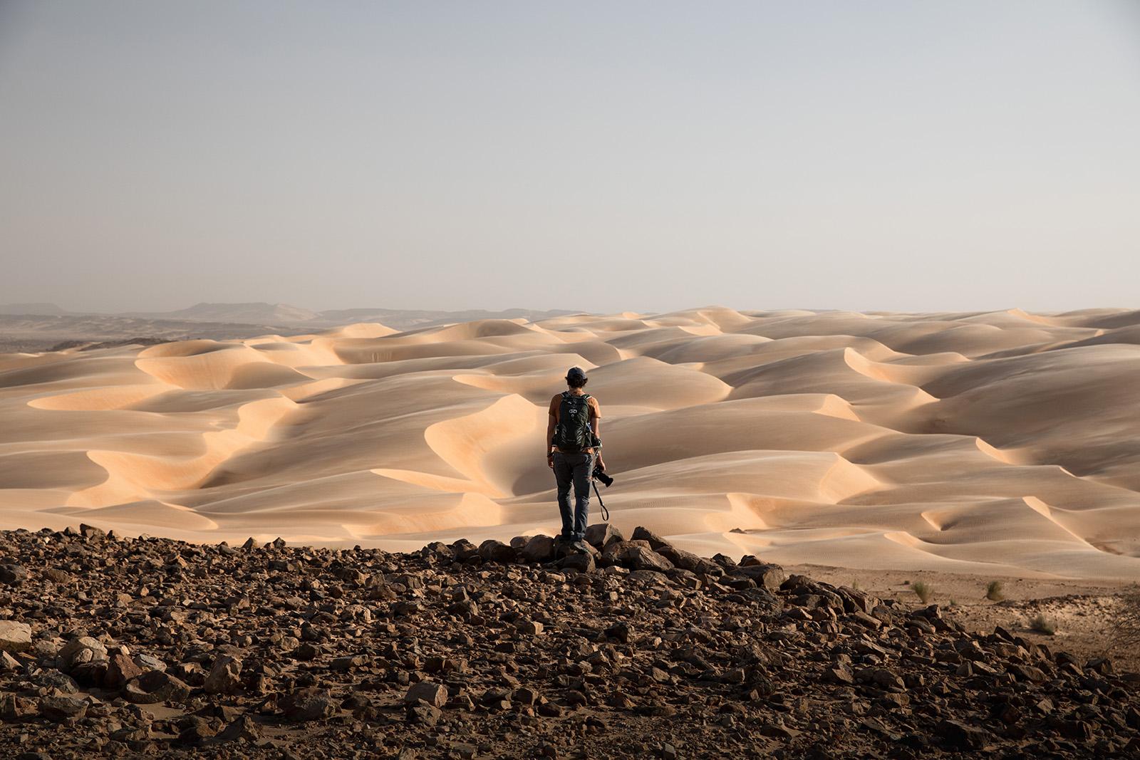 Le plus beau paysage de la Mauritanie