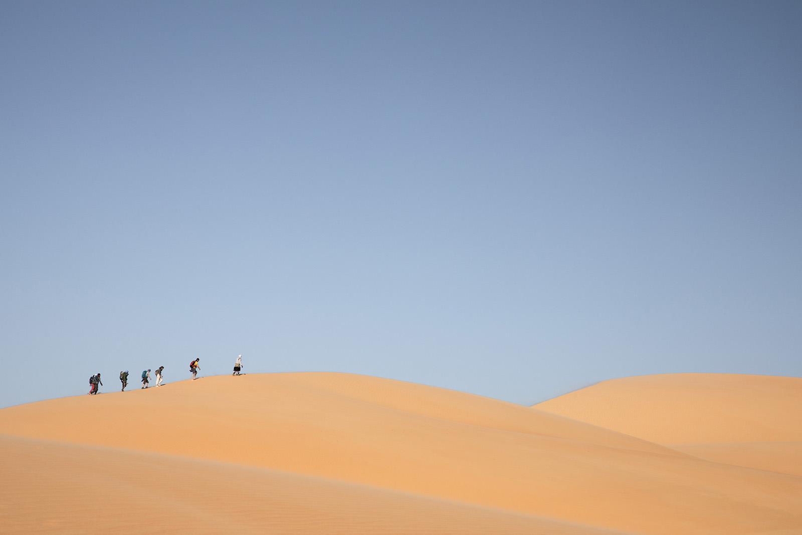 Randonnées dans le désert du Sahara