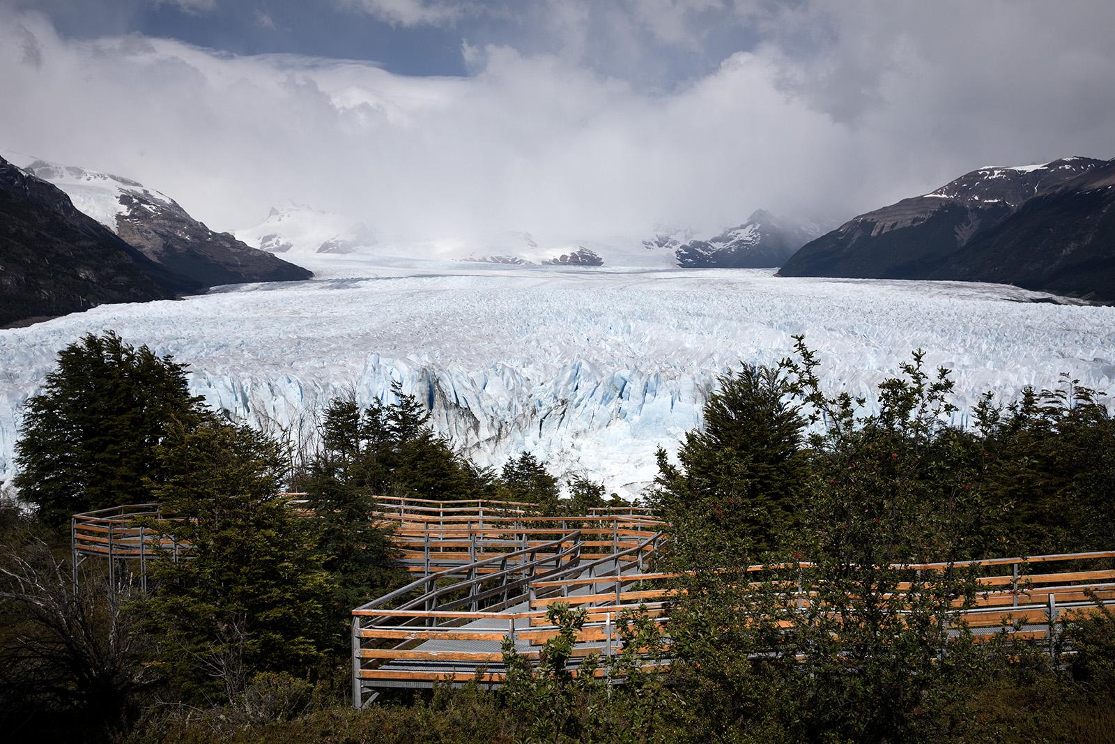 passerelles Perito Moreno
