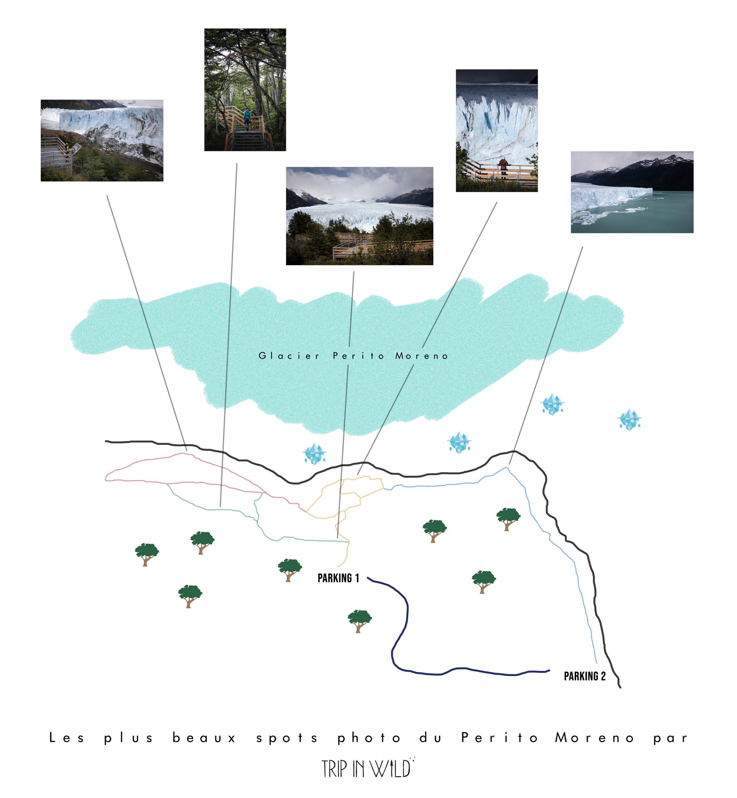 photographier le Perito Moreno