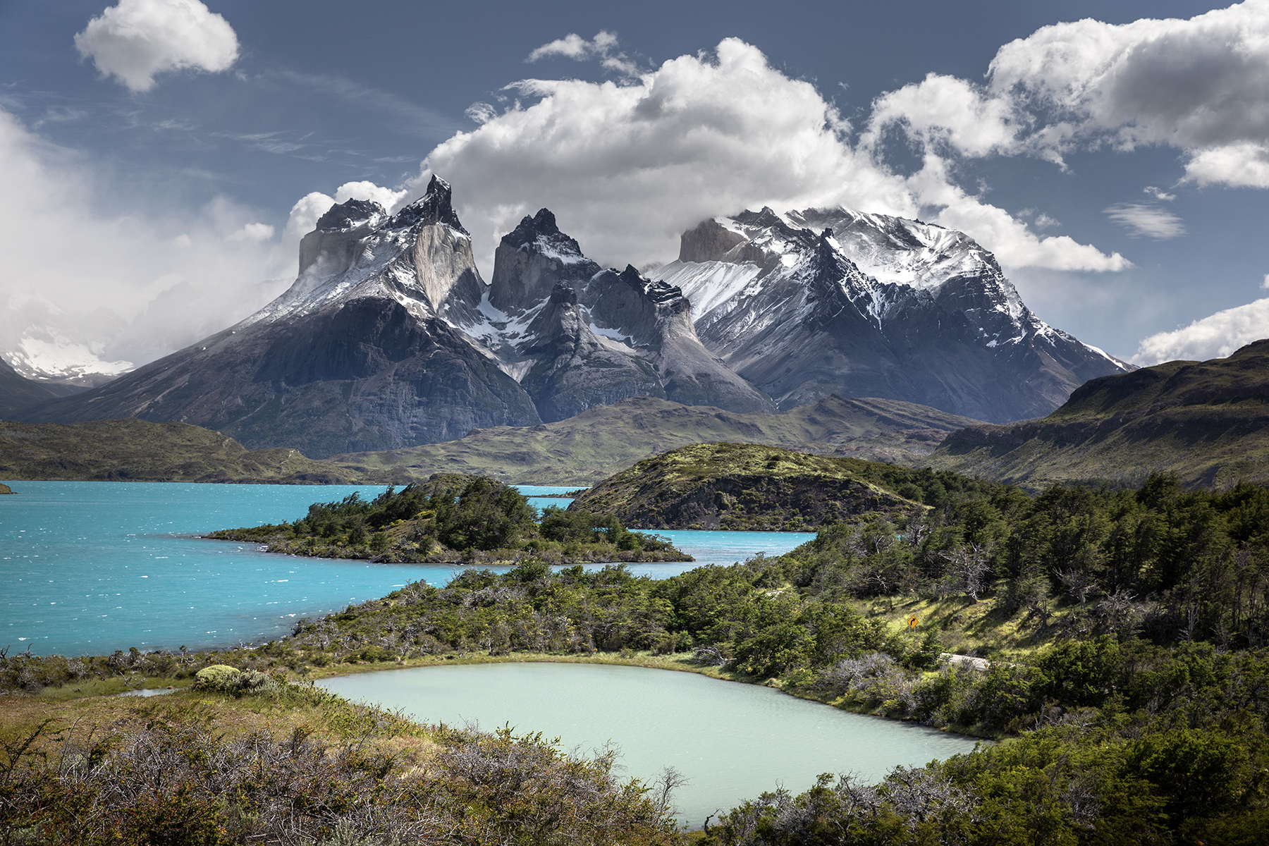 Paysage Cuernos del Paine