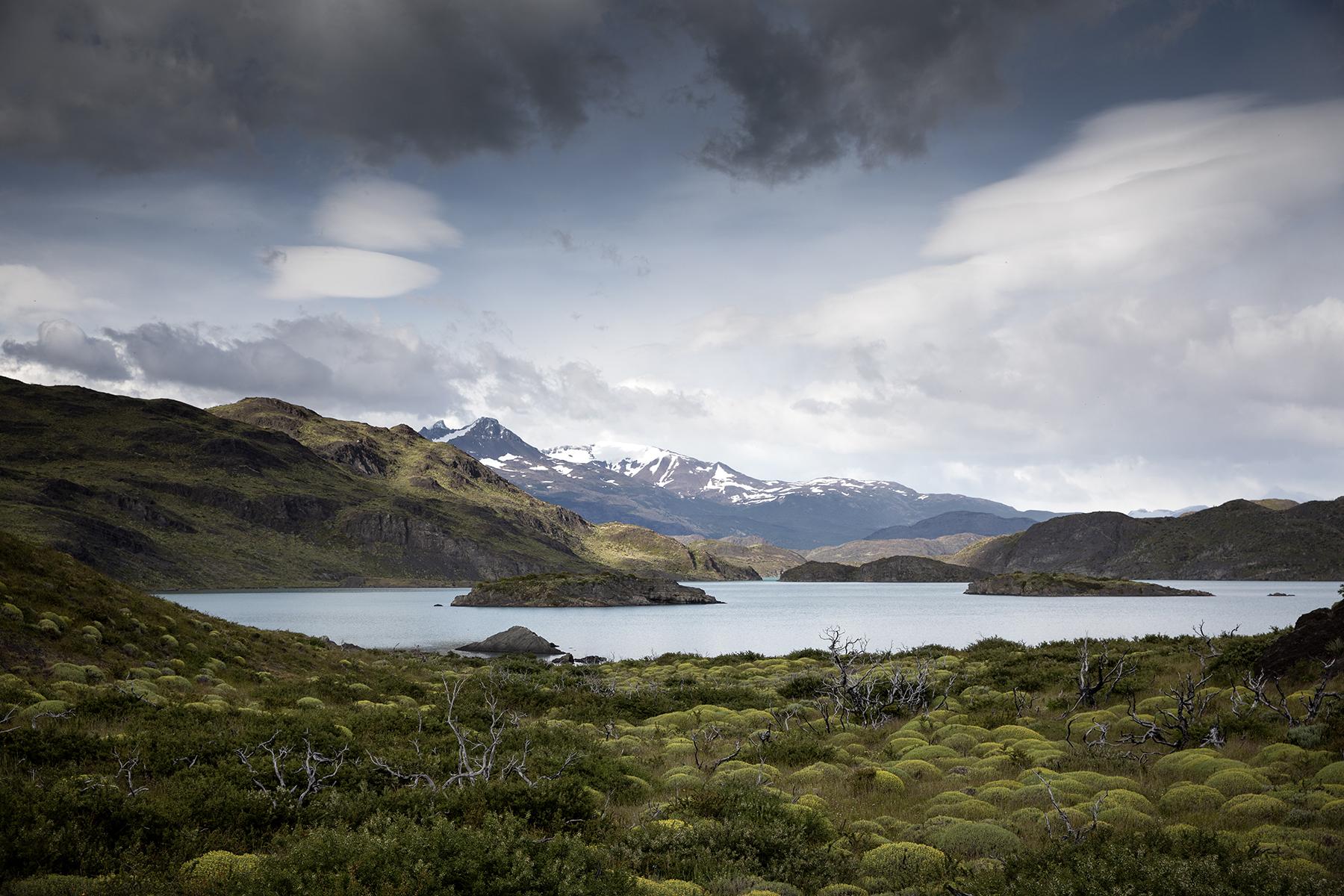 randonnée facile dans le parc de Torres del Paine