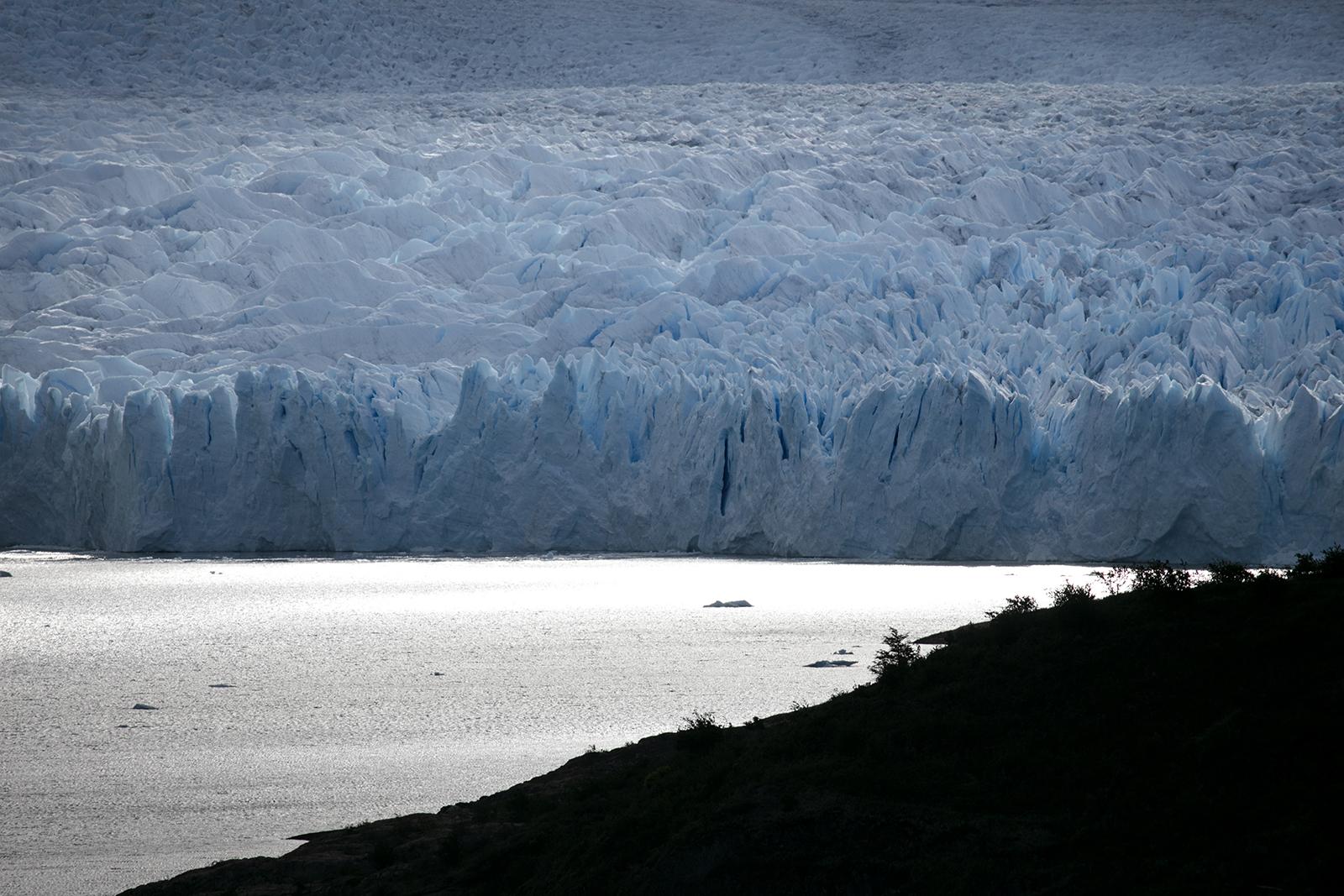 Point de vue sur le glacier Perito Moreno