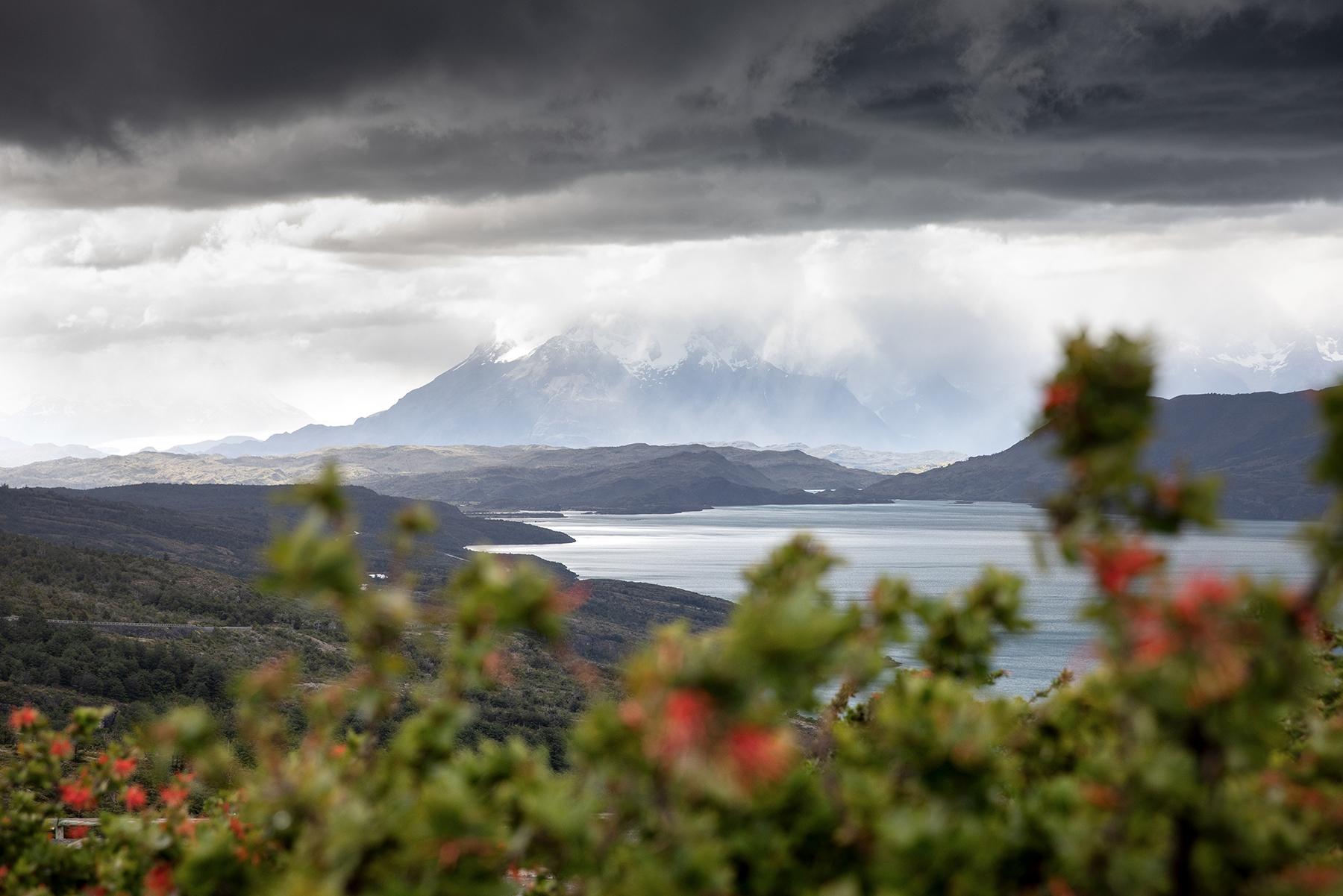 Lago del Torro route Parc Torres del Paine