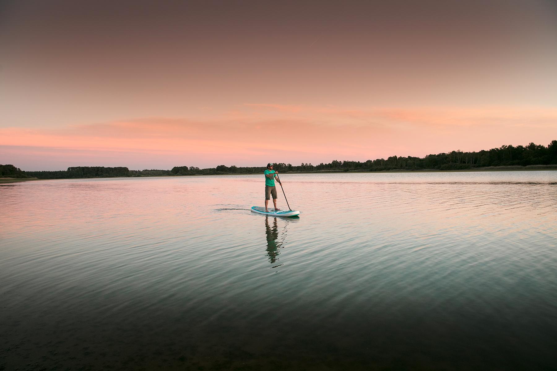 Paddle en France dans le Berry