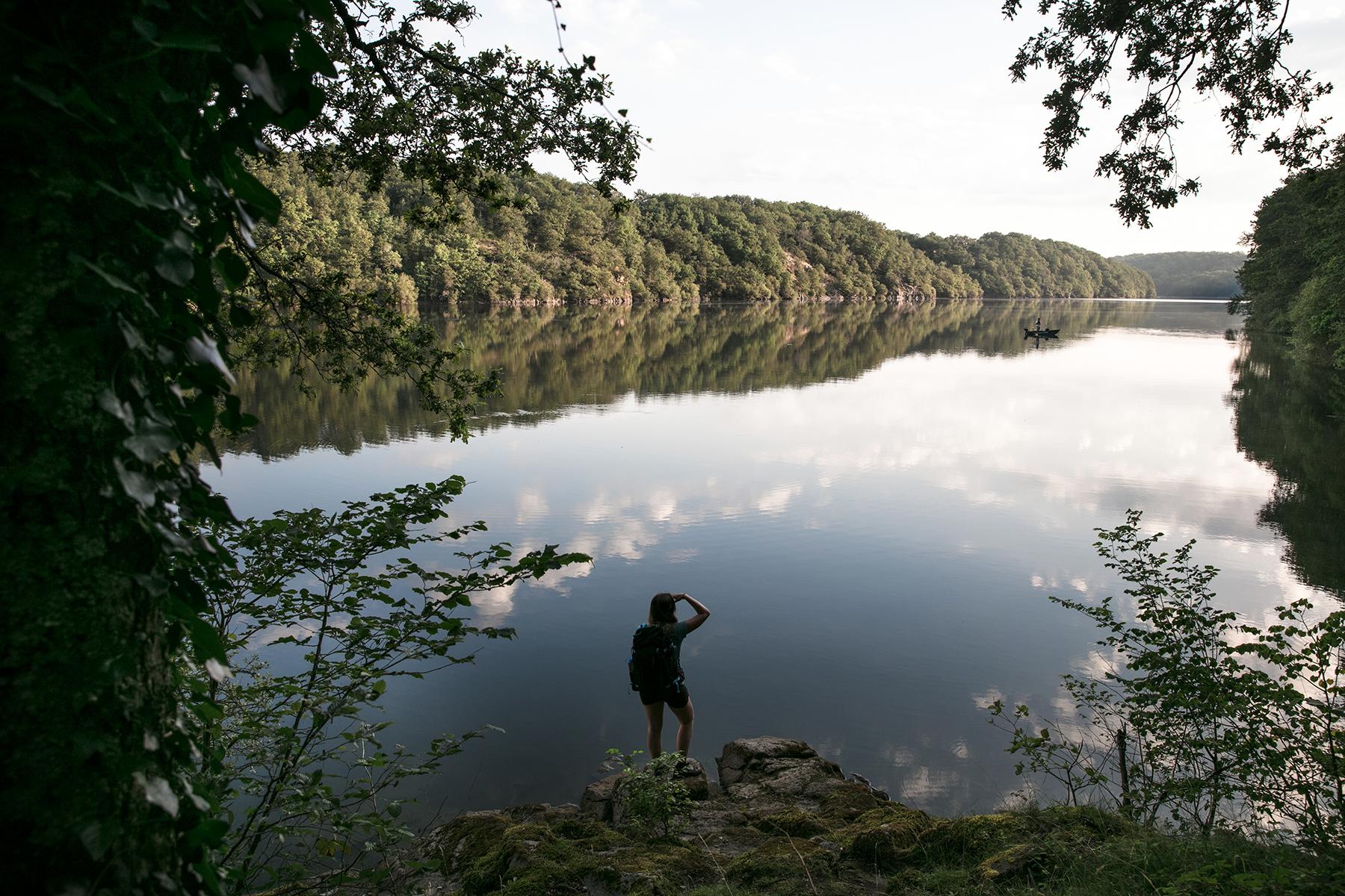 Randonnée le long de la Creuse