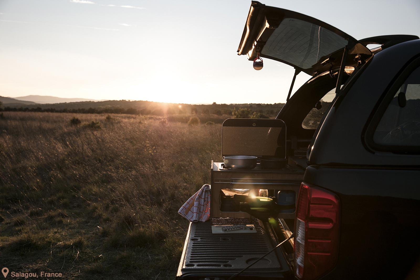 Idées recettes pour cuisiner en road trip en van ou en camping