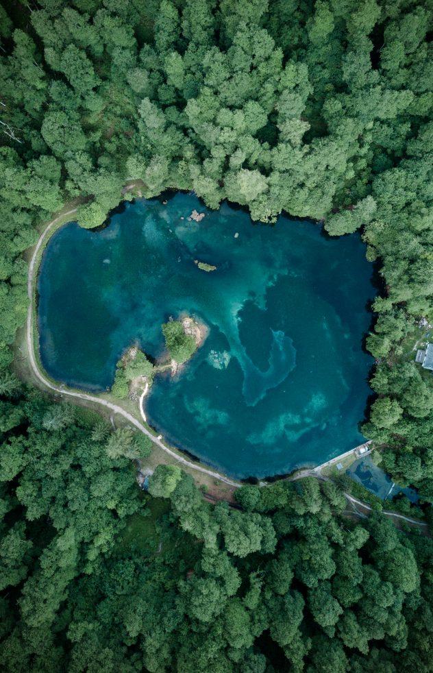 Tableau photo lac de Bethmale