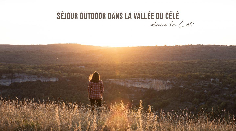 Le Lot : aventures outdoor dans la vallée du Célé