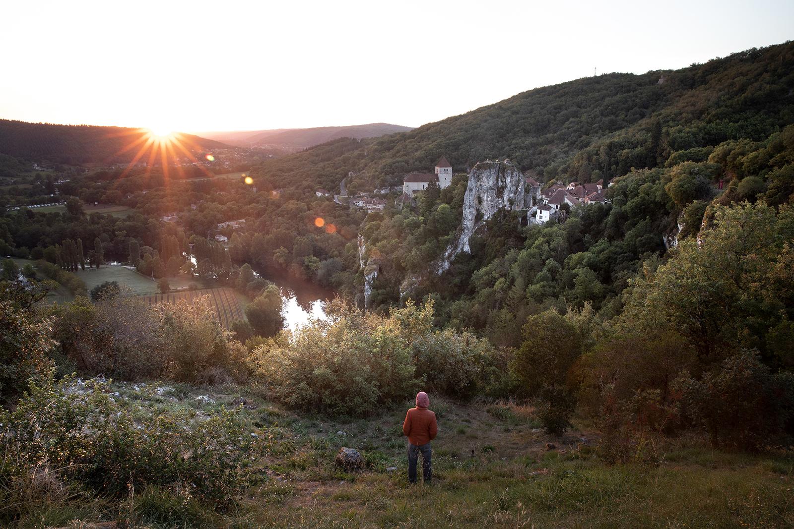 Point de vue Saint-Cirq Lapopie