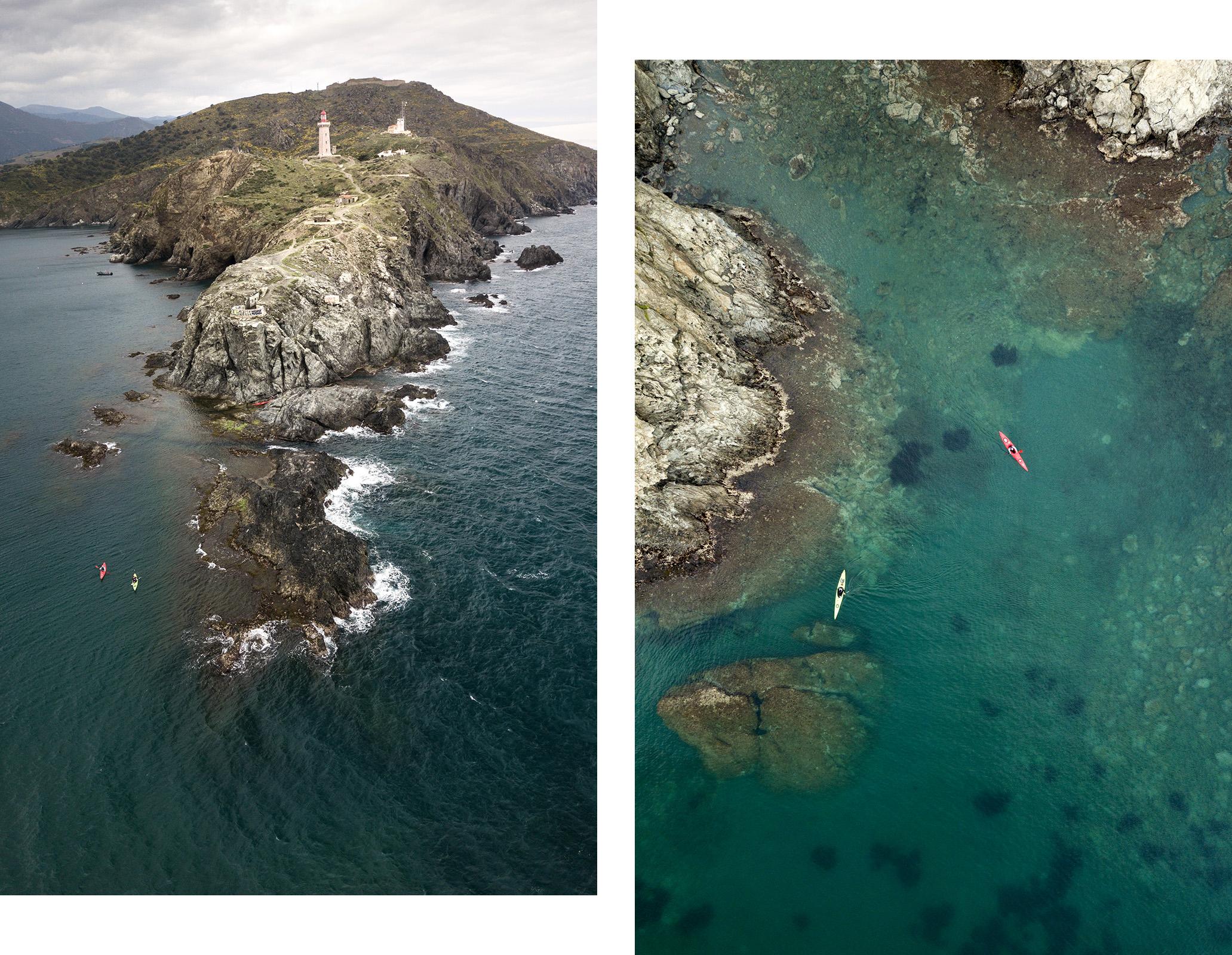 Où faire du kayak de mer en France