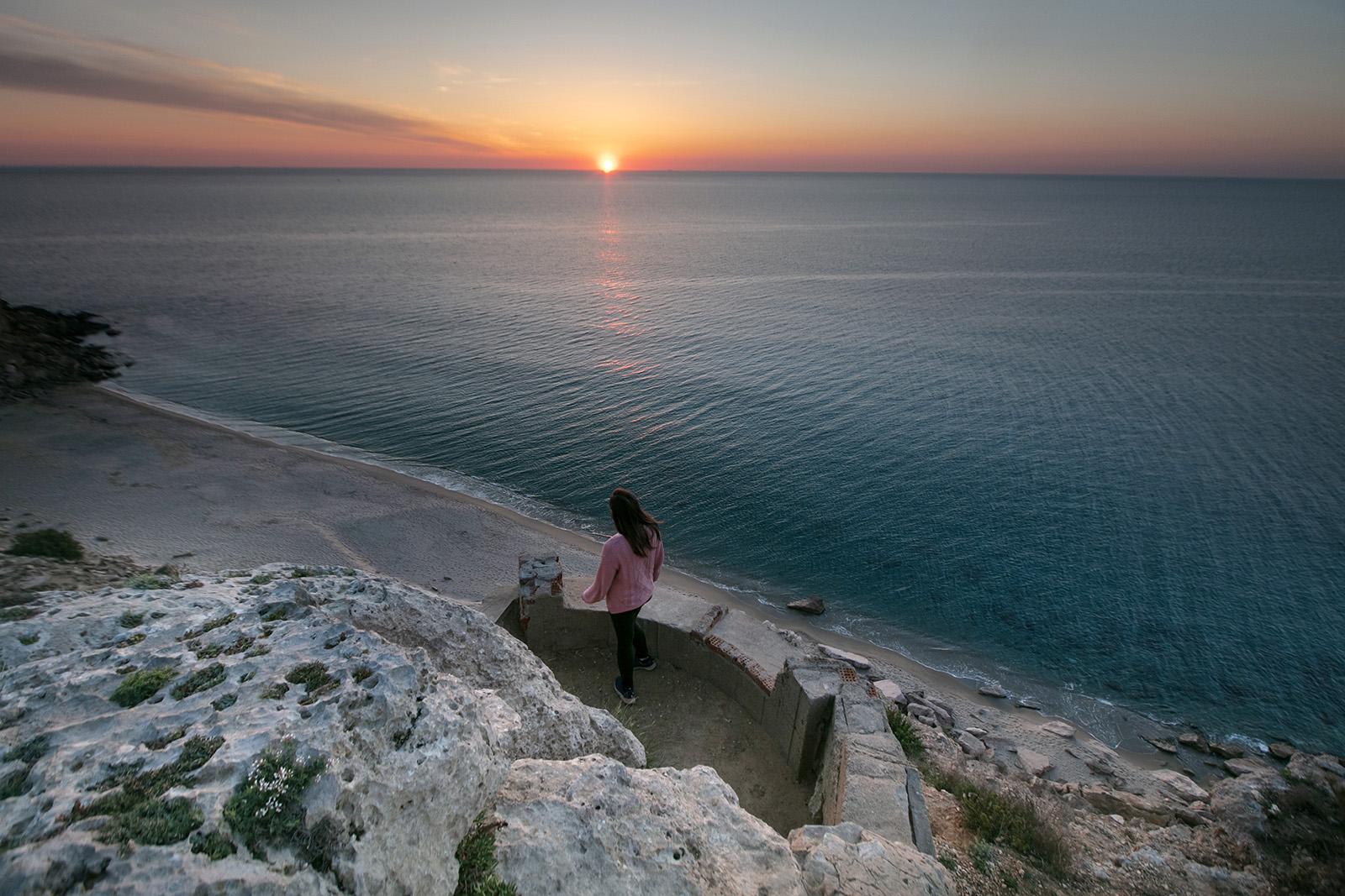Panorama au Cap Leucate