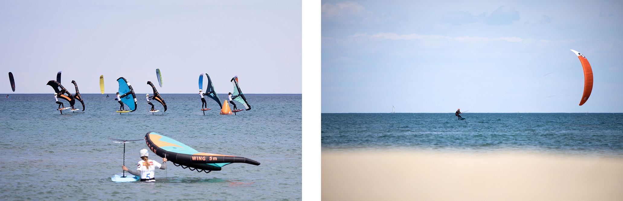 courses Wingfoil et Kitefoil Mondial du Vent