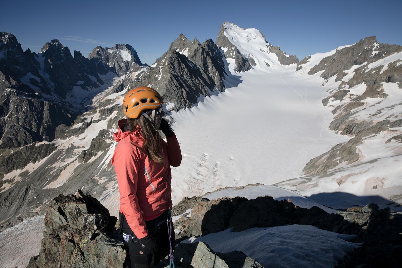 Ascension sommet facile parc national des Ecrins