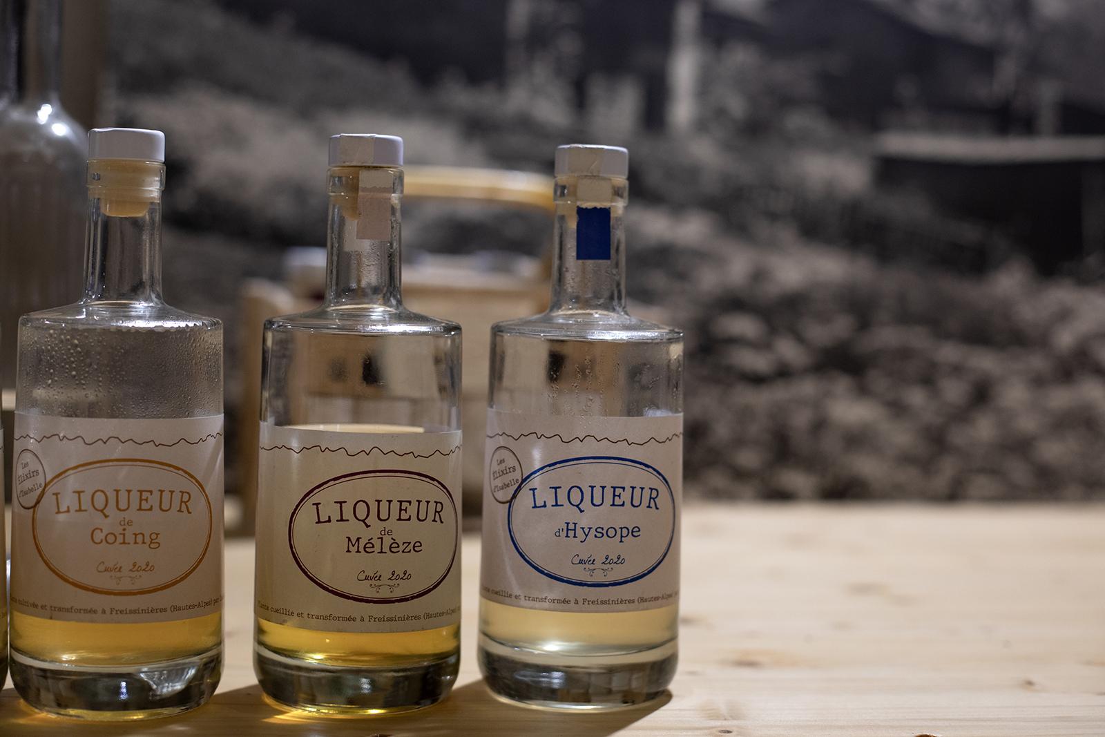 Caveau liqueurs de montagne Hautes-Alpes