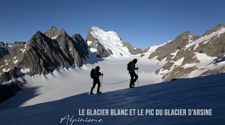 Alpinisme | Le Glacier Blanc et l'ascension du Pic du Glacier d'Arsine