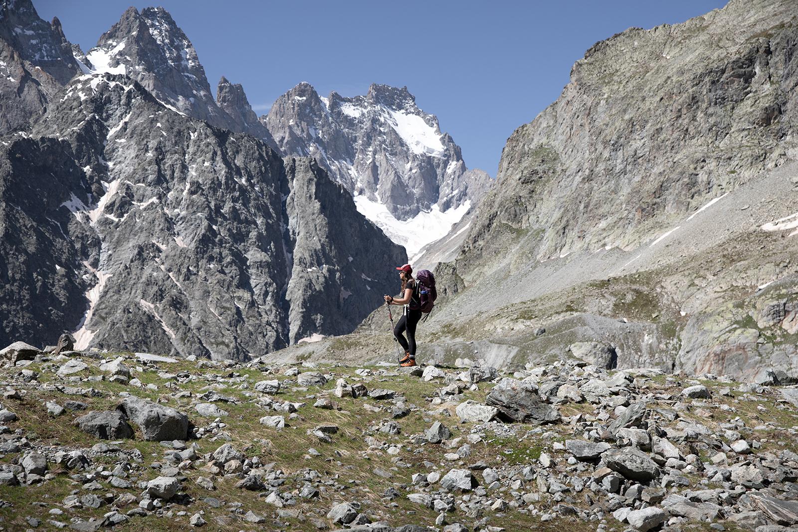 Randonnée au Glacier Blanc des Ecrins
