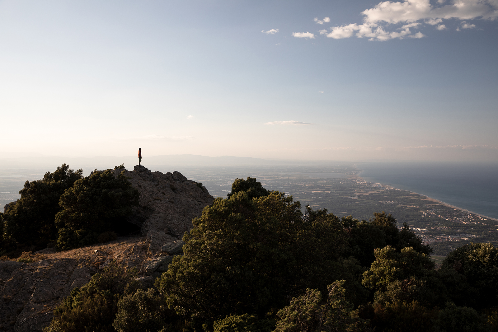 Panorama tour de la Massane