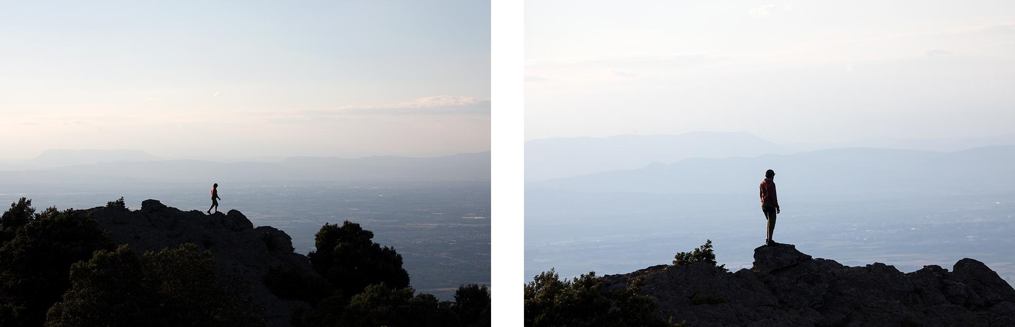 Panorama sommet de la massane