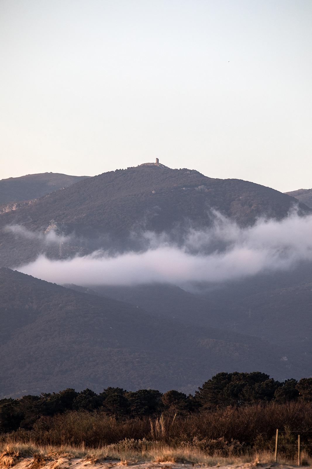 la randonnée à la tour de la Massane