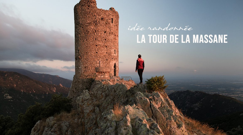 La tour de la Massane depuis Valmy en randonnée